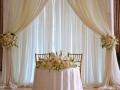 Sweetheart Table Drape