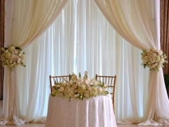 Sweetheart Table Drape
