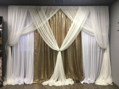 Gold Sequins Backdrop