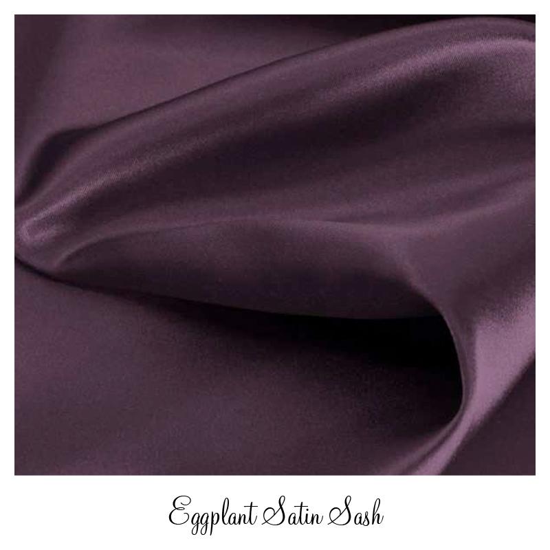 eggplantsatinsash