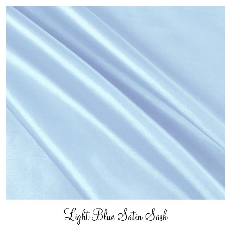 lightbluesatinsash