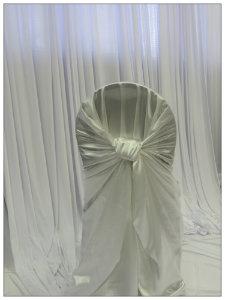 White Satin Pillowcase Cover