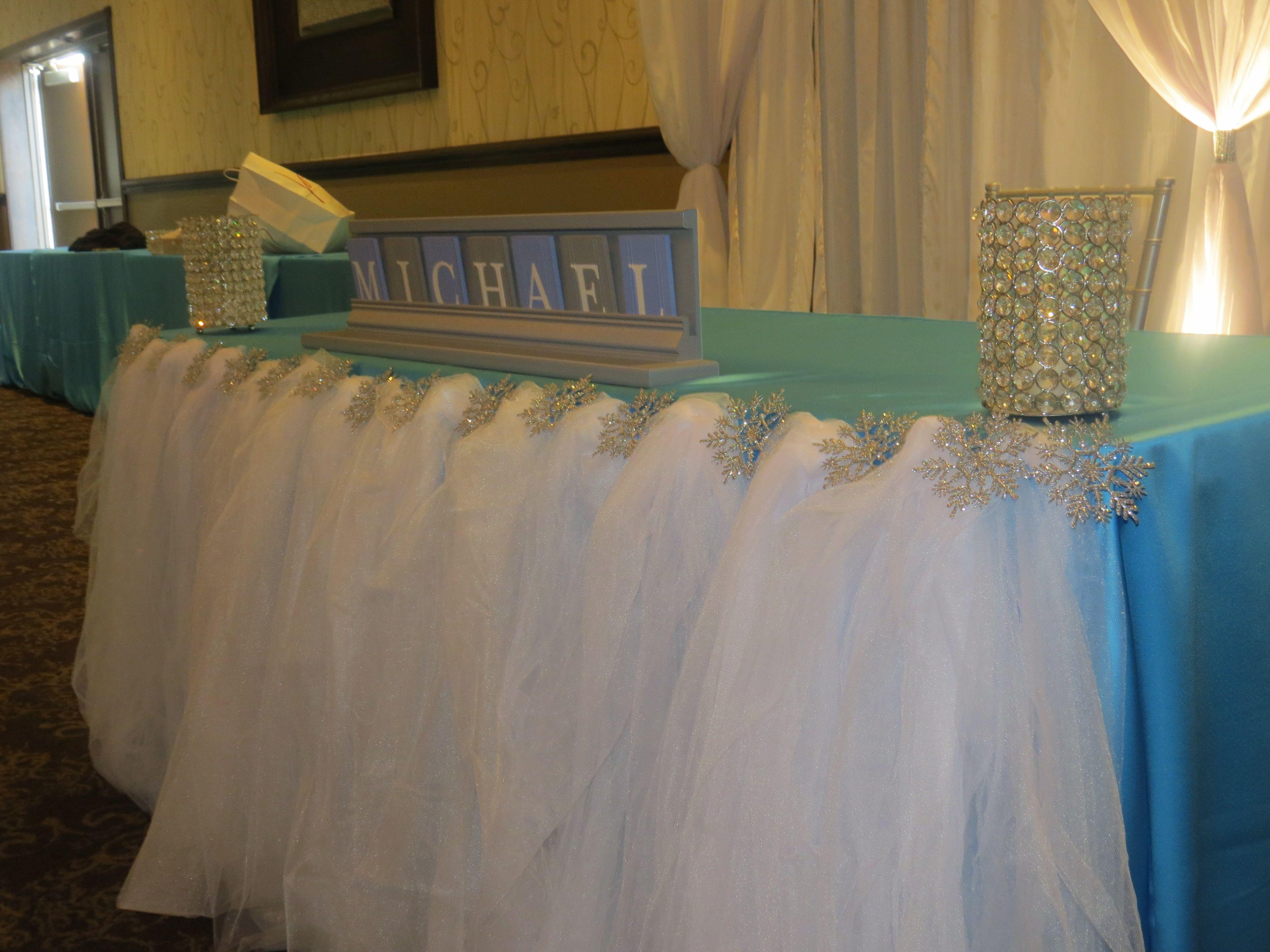 Kara's Party Ideas Winter Wonderland Baby Shower | Kara's ... |Winter Theme Baby Shower