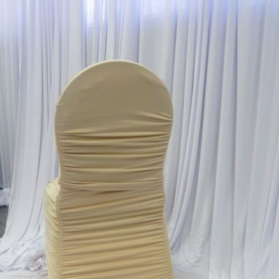 Champagne Flair Chair Cover
