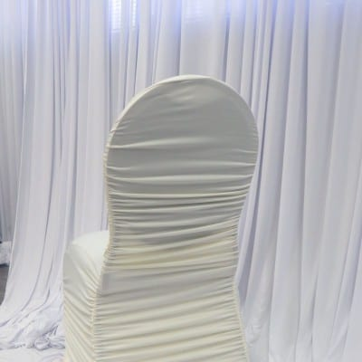Ivory  Flair Chair Cover