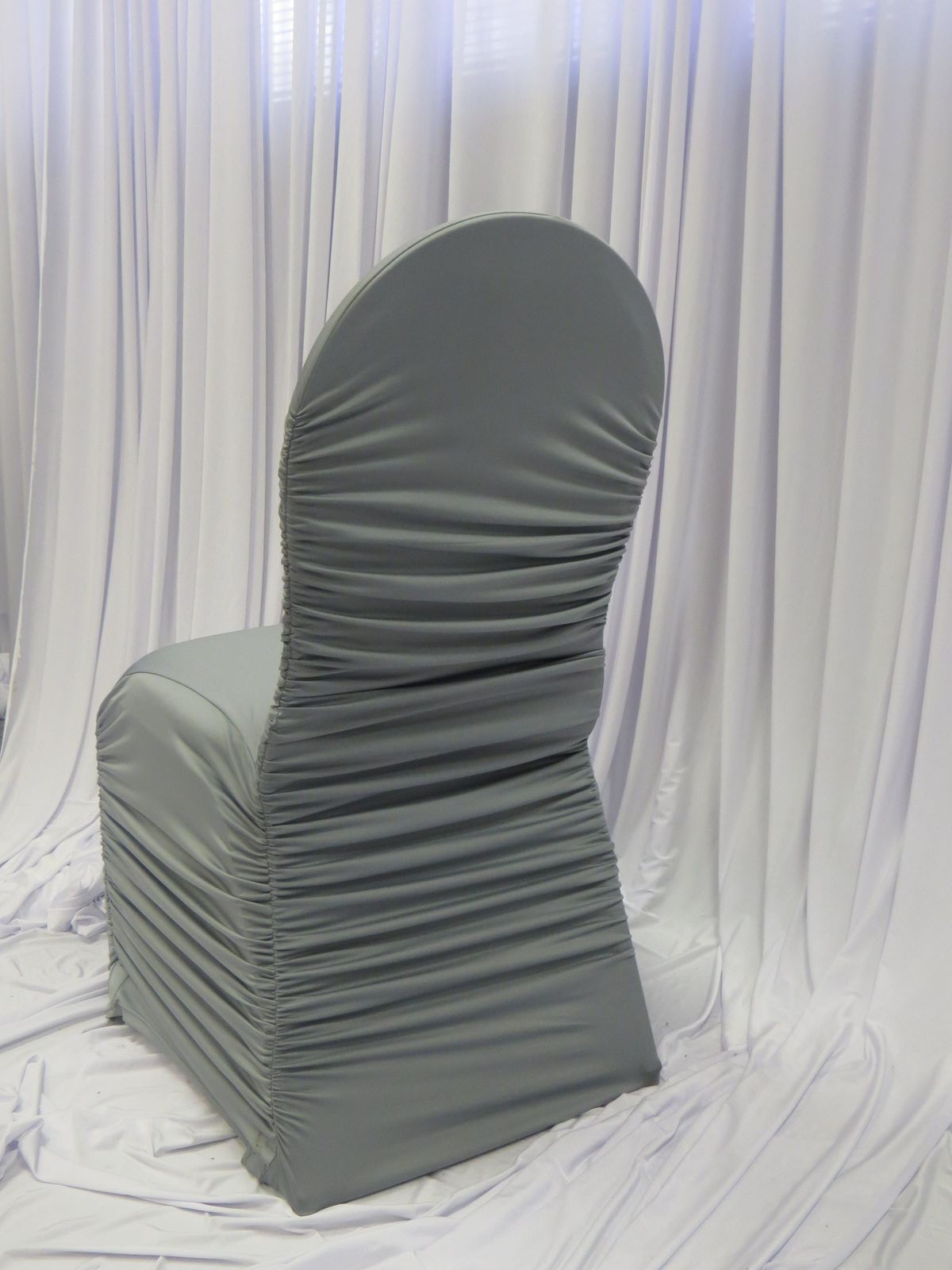 Silver Flair Chair Cover