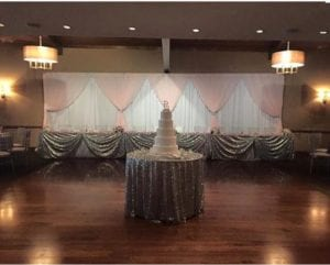Hour Glass Drape Double Layer