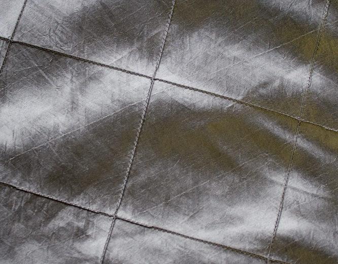 Charcoal Pintuck Linen