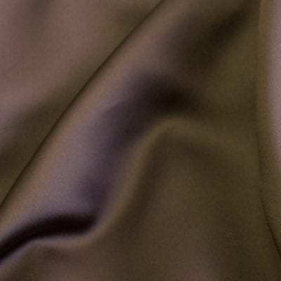 Chocolate Matte Satin Linen