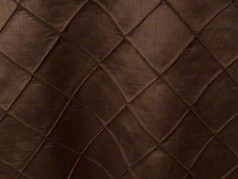 Mocha Pintuck Linen
