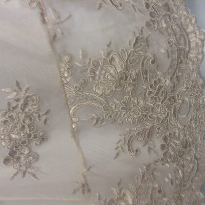 Collette Lace Trim Detail