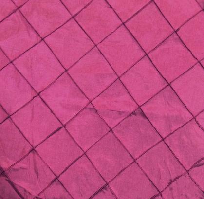 Cranberry Pintuck Linen