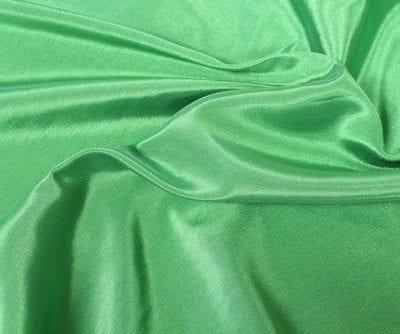 Emerald Green Bengaline Moire Linen