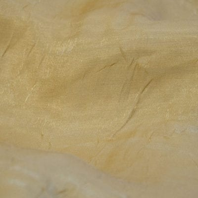 Gold Iridescent Crush Linen