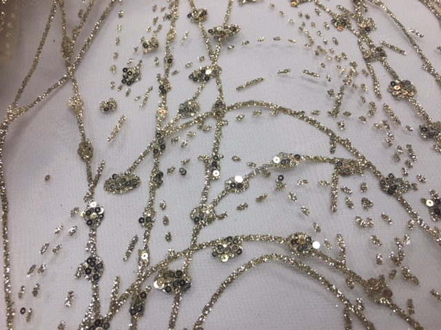 Champagne Chandelier Overlay