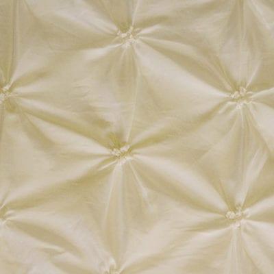 Ivory Pinchwheel Linen
