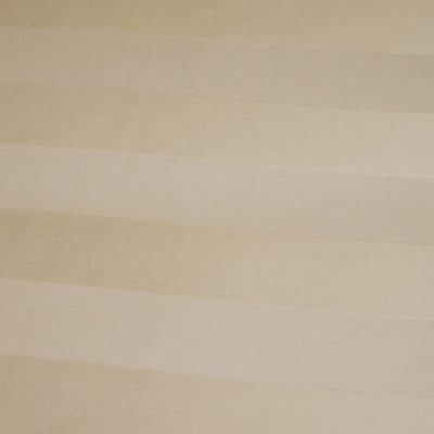 Ivory Satin Stripe Linen