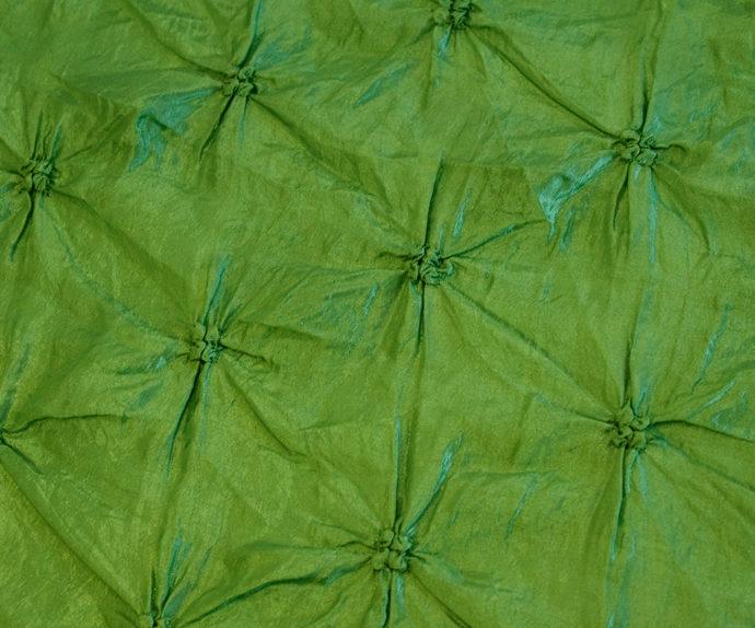 Lime Pinchwheel Linen