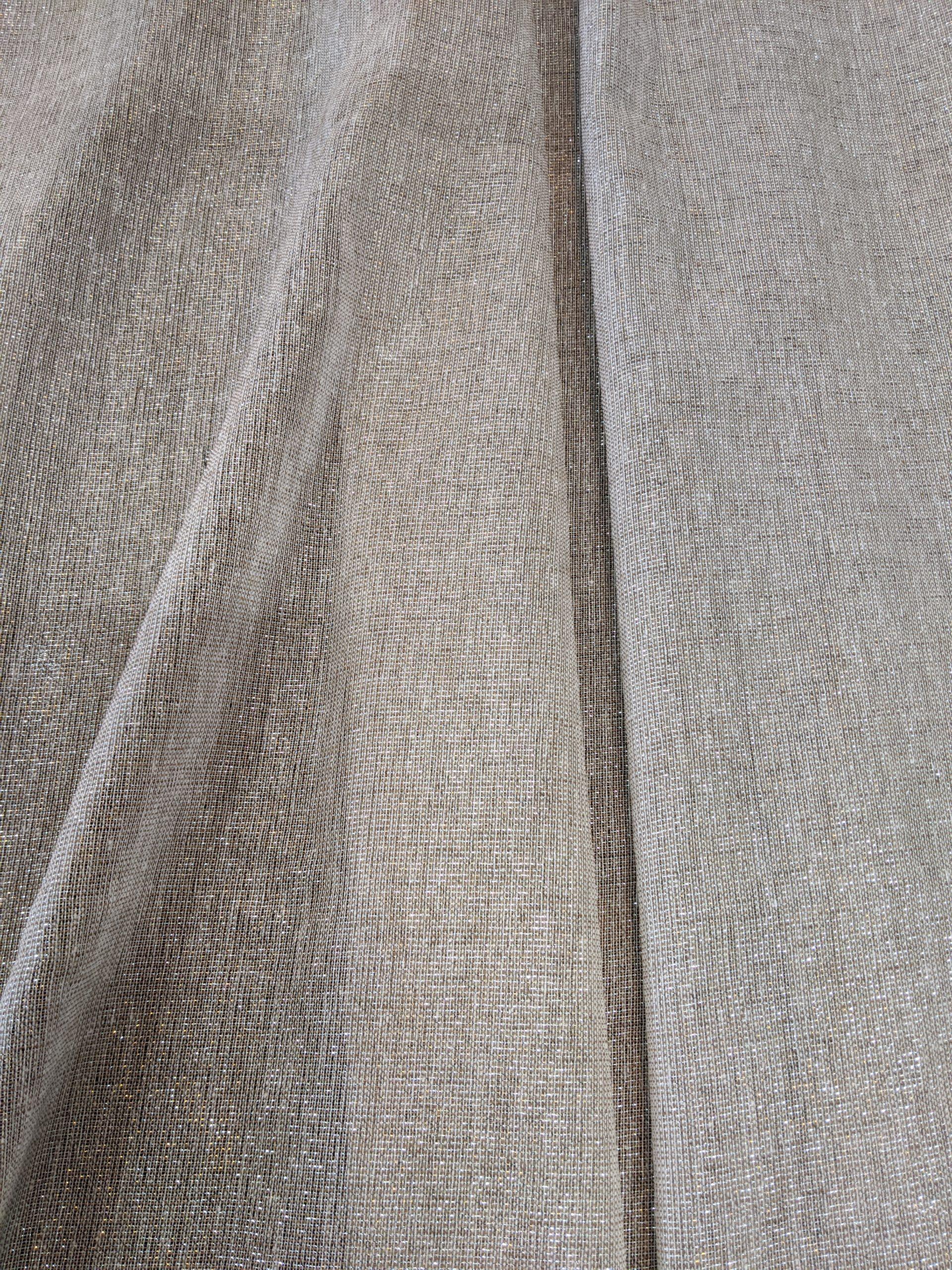 Metallic Gauze Flowy Runner/Drape