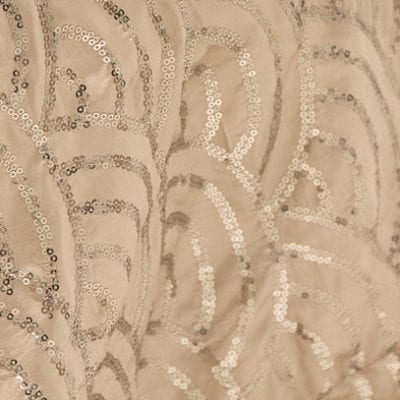 Champagne Scales Linen