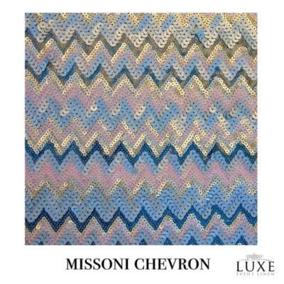 Missoni Chevron Sequin Linen
