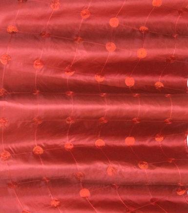 Red Glitz Linen