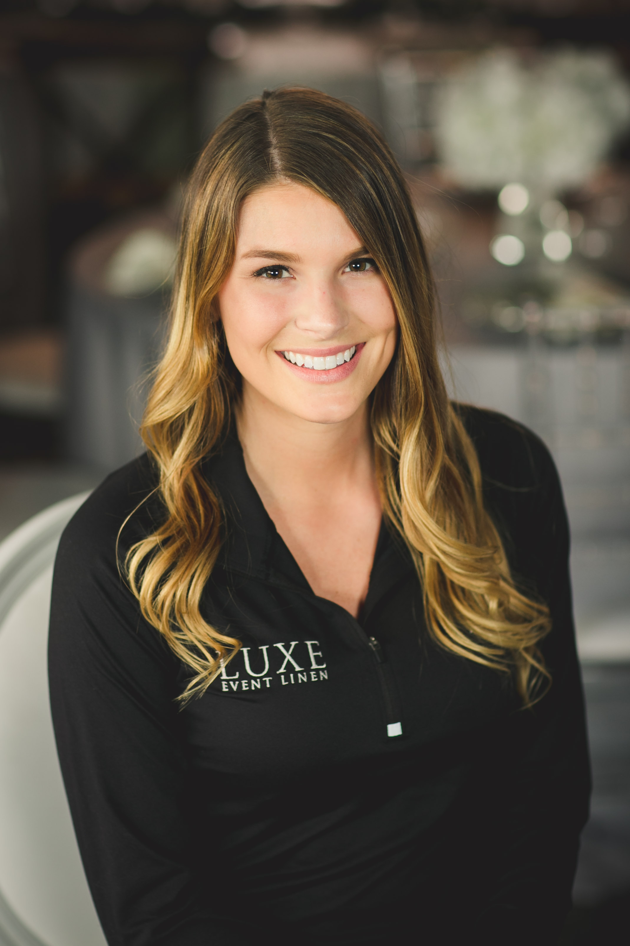 Bridal Stylist Shelby Fligger  stylist@luxeeventlinen.com