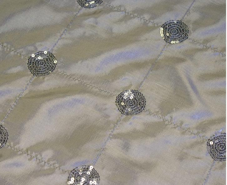Silver Glitz Linen