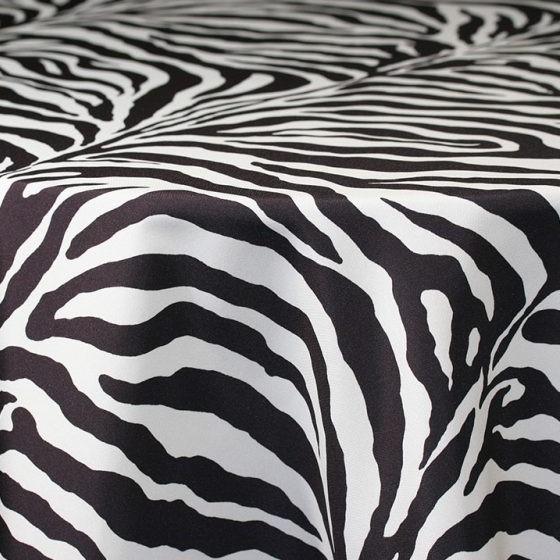 Zebra Matte Satin