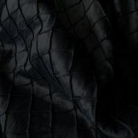 Black Pintuck Linen