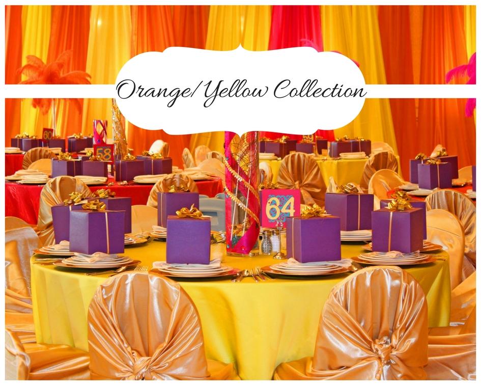 Orange Yellow Collection