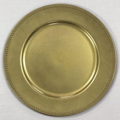 Gold Beaded